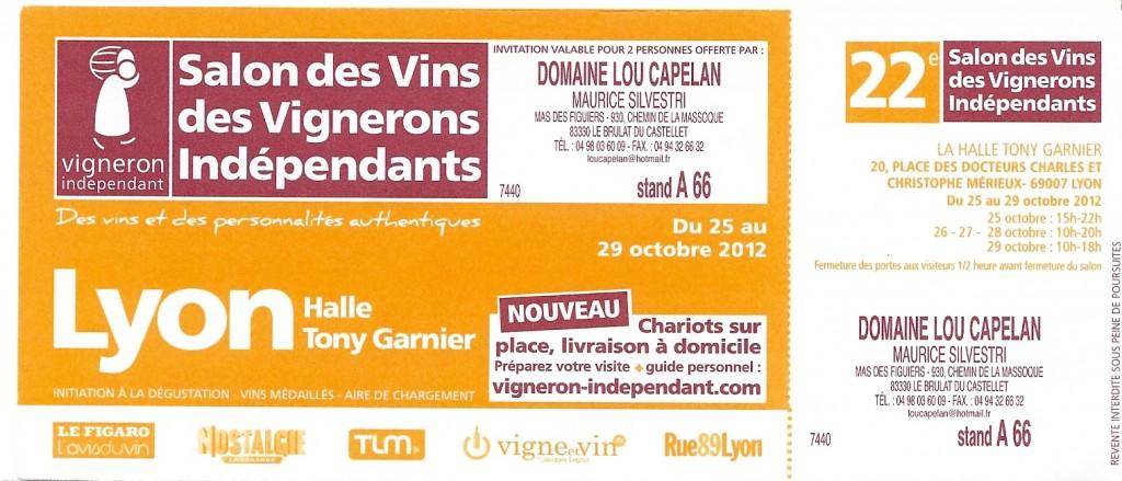 Les vins de bandol du domaine lou capelan - Salon des vignerons independants lyon ...